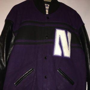 Northwestern University Letterman's Jacket - Large